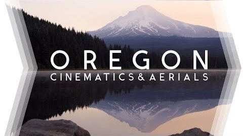 OREGON     From Coast to Mountain (incl. Drone/Aerials) • 4K