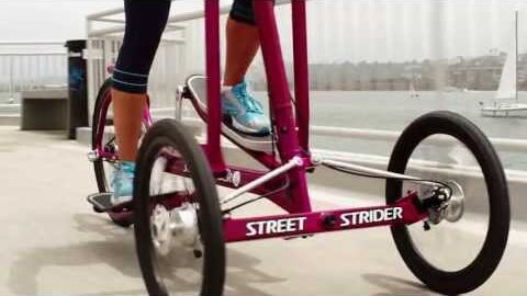The Outdoor Elliptical Bike that MOVES You!