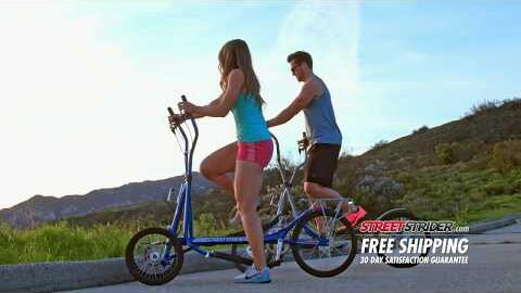 StreetStrider | The Elliptical that MOVES You! | 2017