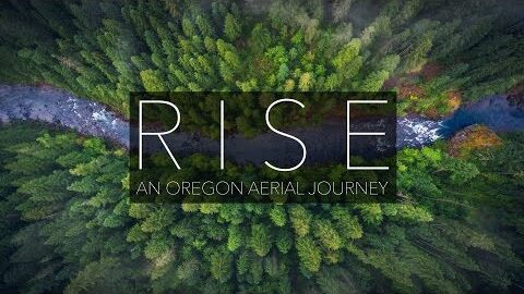 RISE - Oregon Aerial Nature 4K